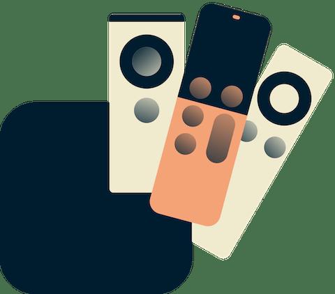 All Apple TV generaties met afstandbediening