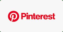 Pinterestロゴ。