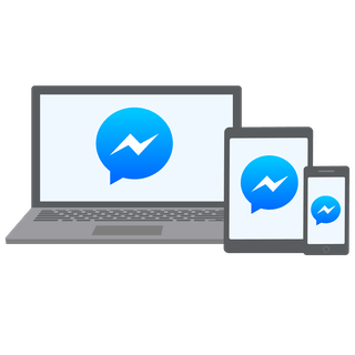 Facebook Messenger unblocked on laptop, tablet, and phone.