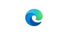 Microsoft Edgeロゴ。