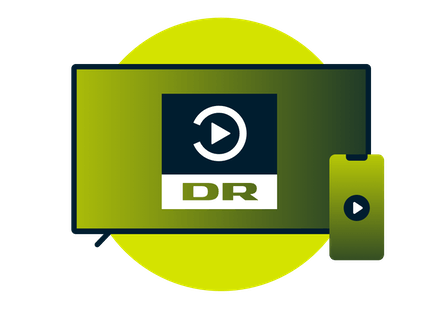 Watch DR TV on TV and mobile devices.