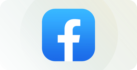 Facebookロゴ。