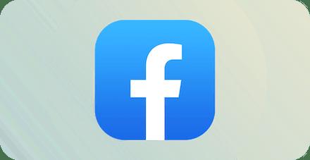 Логотип Фейсбук.