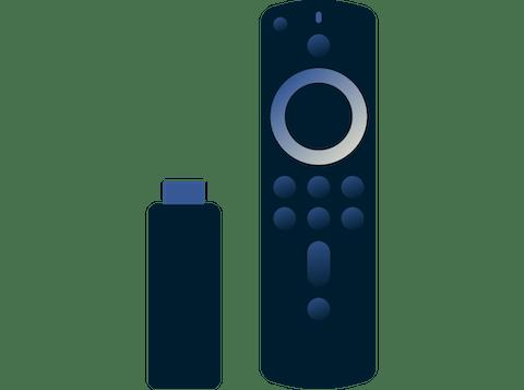 Amazon Fire Stick ve Kumandası