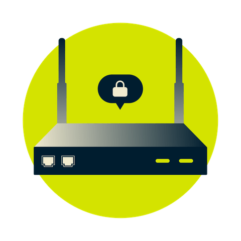 Network Lock für Router verhindert, dass alle angeschlossenen Geräte durch Datenlecks betroffen sind.