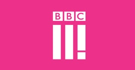 Logo BBC Three.