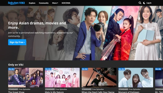 Rakuten Viki offers a wide selection of current and classic Korean dramas
