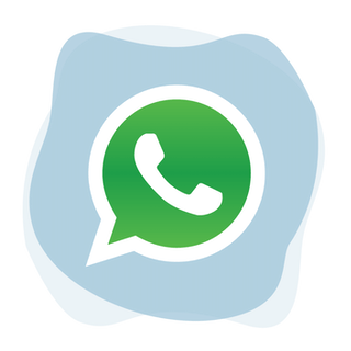 Unblock WhatsApp: WhatsApp logo.