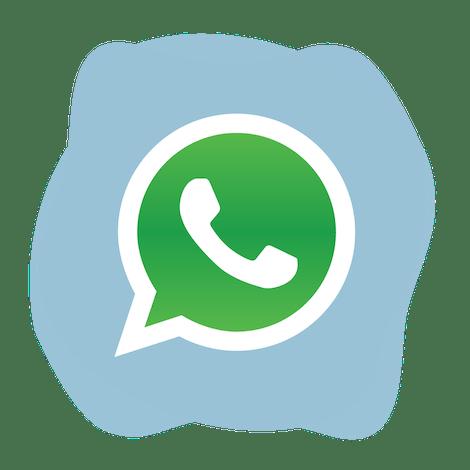 Avblockera WhatsApp: WhatsApp-logotyp.