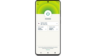 Preview: Screenshots Android ExpressVPN-Android