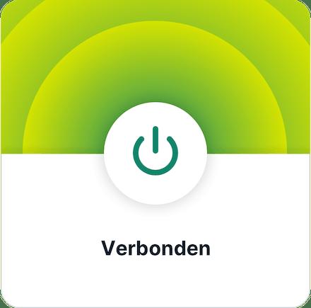 VPN installeren stap 3. App verbonden.