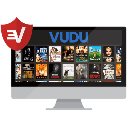 A desktop screen showing rows of Vudu movies.