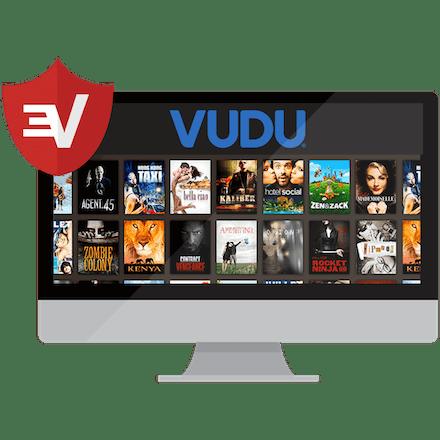 A desktop screen showing rows of Vudu movies.