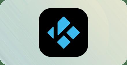 Логотип Kodi.