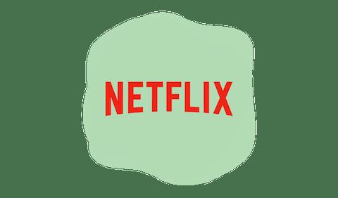 Netflixin logo.