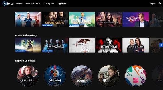 TVNZ programmes
