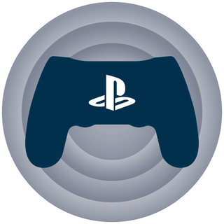 PS4 gaming console and controller.