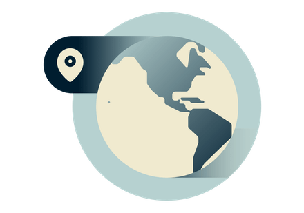 Use a VPN anywhere on the globe, including North and South America.