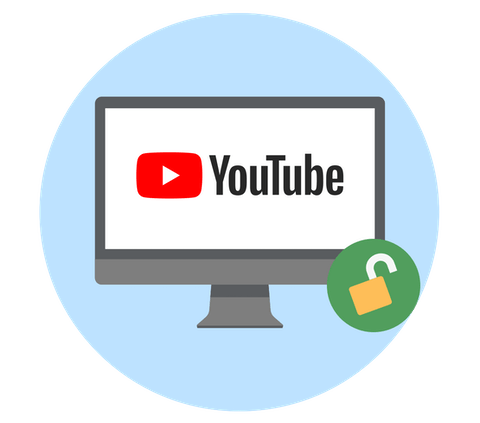 Ohita Youtuben esto VPN:n avulla.