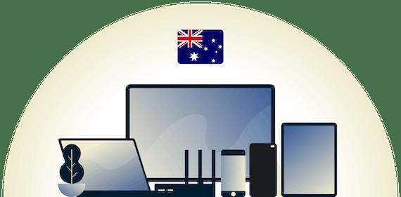 VPN ของออสเตรเลียปกป้องอุปกรณ์หลากหลายประเภท