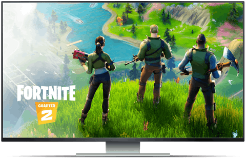 Geforce now screen with Fortnite
