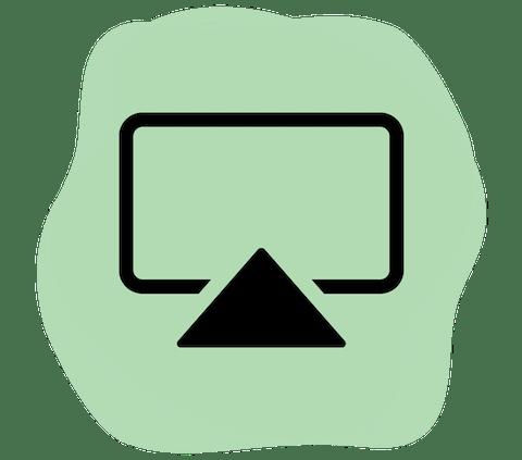 AirPlay logo.
