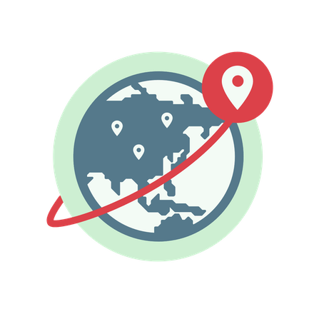 Parhaat VPN-sijainnit Aasiassa.