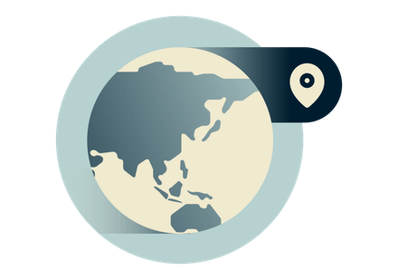 Use a VPN anywhere on the globe, including Asia.