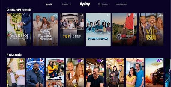 6play France Streaming Screenshot