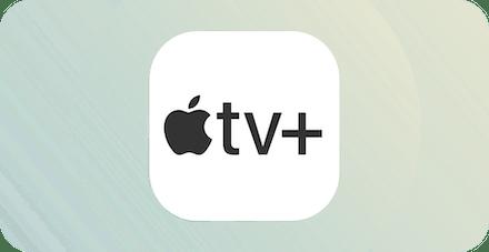 apple tv plus app-logga