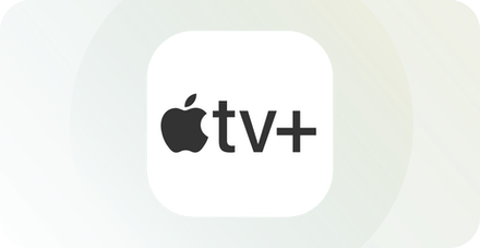 apple tv plus app-logga