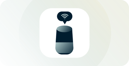 Smart device with Wifi icon above it.