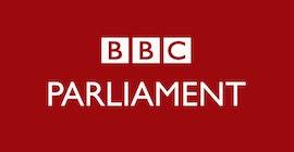Logotipo de BBC Parliament.