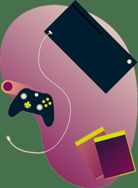 Konsole Xbox One i Xbox 360 z kontrolerami.