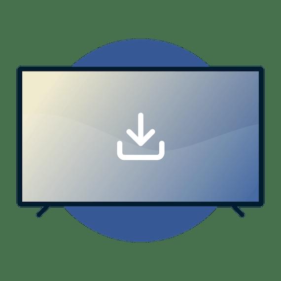 スマートテレビにExpressVPNをダウンロード。