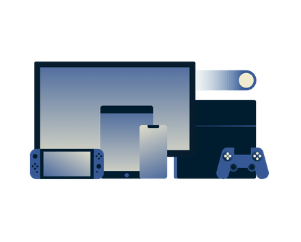 Devices for gaming.