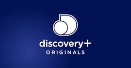 Discovery Plus originals logga.
