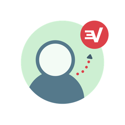 User signing up for ExpressVPN.