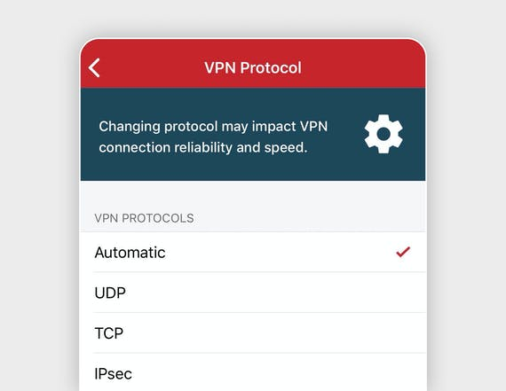 How to adjust your VPN protocol.