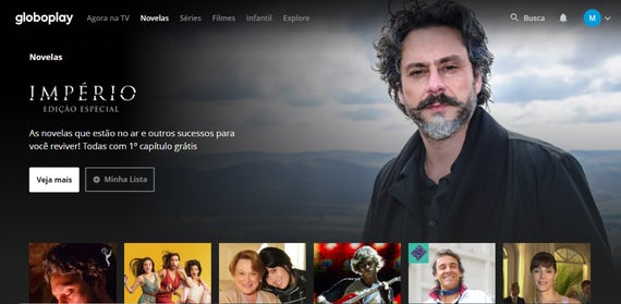 Globoplay is Brazil's largest streaming service