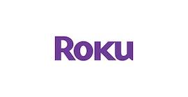 Roku logosu.