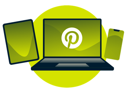 Pinterest on a PC with ExpressVPN.
